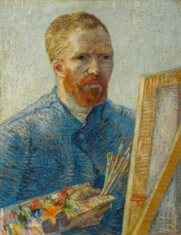 van Gogh Self-Portrait as a Painter 1887-1888