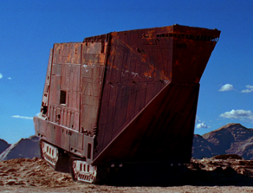 Star Wars Sandcrawler, photo from Wookiepedia