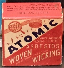 Atomic Asbestos, National Atomic Testing Museum, Photo by cjverb (2017)