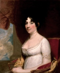 Dolley Madison, by Gilbert Stuart (1804)