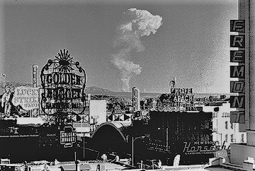 Mushroom cloud, Las Vegas-Photo by National Nuclear Security Administration, c1950s