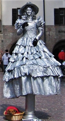 Living Statue, Innsbruck, Photo by cjverb (2009)