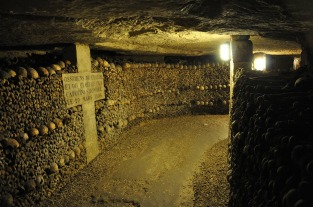 Paris Catacombs, Photo by Hartmut Kellner, Pixabay