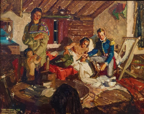 Beaumont & St. Martin, by Dean Cornwell (1938)