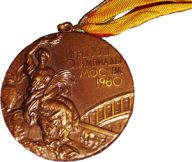 1980 Summer Olympics Bronze Medal, Photo by Gary Abraham