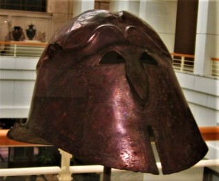 Bronze Helmet, South Italy (c300 BCE), DIA