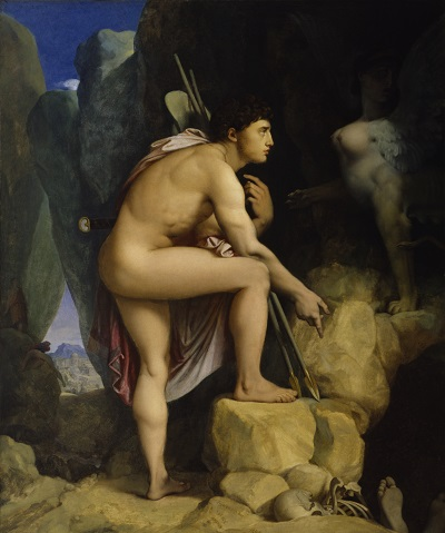 Oedipus and the Sphinx, by Jean-Auguste-Dominique Ingres (1864)