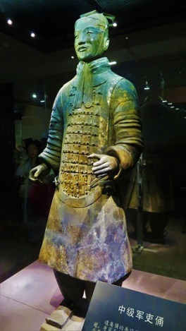 Terracotta Warrior Mid-Ranking Officer, Photo by cjverb (2017)