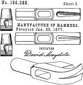 David Maydole U.S. Patent (1877)
