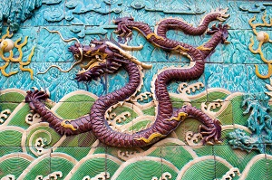 Dragon Wall, Forbidden City, Photo by D. Falcone, Pixabay