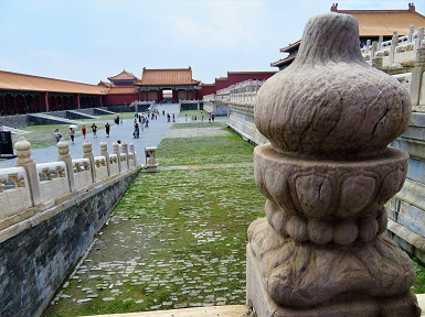 Outer Court, Forbidden City, Photo by cjverb (2017)