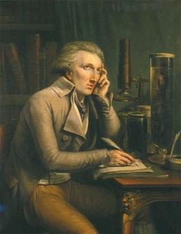 Portrait of Georges Cuvier by Mathieu-Ignace van Brée