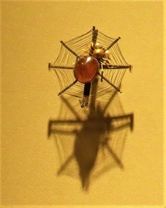 Spider Pin, Qing Dynasty (1644-1911), Photo by cjverb (2017)