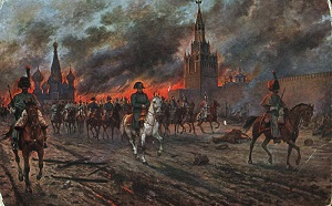 Fire of Moscow (1812) by Viktor Mazurovsky, Wikimedia Commons