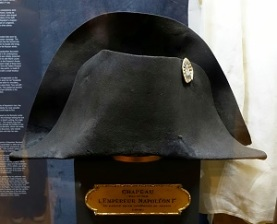 Napoleon's Hat (c1812), Montreal Museum of Fine Art, Photo by Daderot, Wikimedia Commons