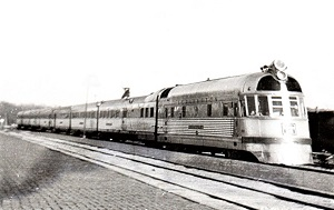 Burlington Zephyr (c1940), WikiMedia Commoms