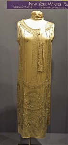 Flapper Dress (1920s), Michigan State University Museum, Photo by cjverb (2016)-1