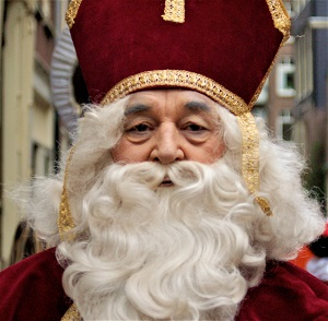 Sinterklaas, Photo by Michell Zappa, WikiMedia Commons