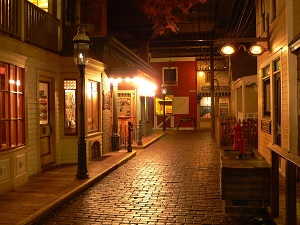 Streets of Old Milwaukee, Milwaukee Public Museum, Photo by Sulfur@English