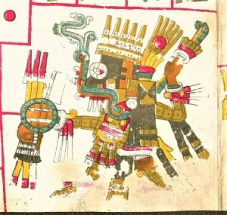 Tláloc (Pre-Columbian), Codex Borgia, WikiMedia Commons.