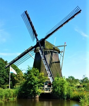 Windmill, Amsterdam, Photo by cjver by (2014)