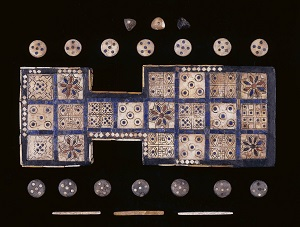 Royal Game of Ur, ©Trustees of the British Museum