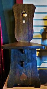 Dutch Arts & Crafts Side Chair(c1906), Grand Rapids Public Museum, Photo by cjverb (2018)