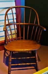 Hoop-Back Windsor Armchair (c1840), Grand Rapids Public Museum, Photo by cjverb (2018)
