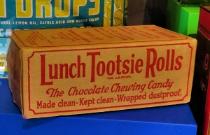 Lunch Tootsie Rolls (c1930), Grand Rapids Public Museum, Photo by cjverb (2018)