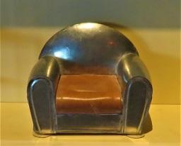 Miniature Art Deco Club Chair, Grand Rapids Public Museum, Photo by cjverb (2018)