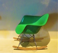 Miniature Eames Shell Chair, Grand Rapids Public Museum, Photo by cjverb (2018)