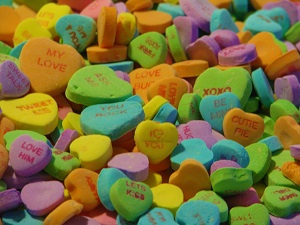 Necco Sweethearts, Photo by Skeeze, Pixabay
