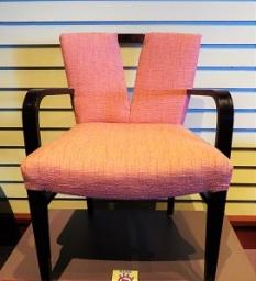 Plunging Neckline Chair (1950), Grand Rapids Public Museum, Photo by cjverb (2018)