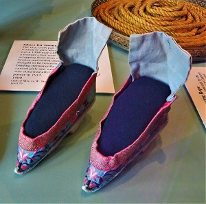Shoes for Bound Feet, Grand Rapids Public Museum, Photo by cjverb (2017)