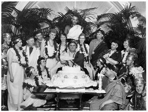 Franklin D. Roosevelt & the Cuff Links Gang Toga Party (1934), National Archives