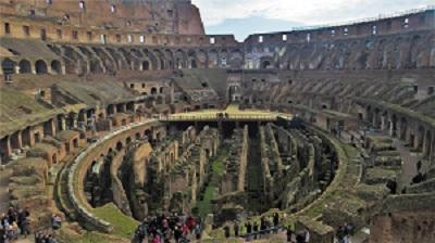 Hypogeum, Rome, Photo by Anilton, Pixabay