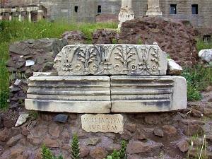 Miliarium Aureum, Rome Italy, WikiMedia Commons