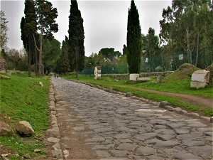 Via Appia, Photo by MM (2005), WikiMedia Commons