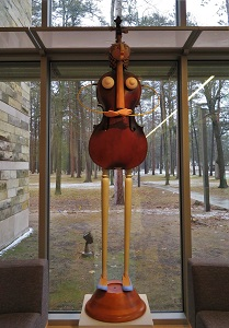 Cello Woman by Dewey Blocksma, Dennos Museum Center, Photo by cjverb (2018)-1