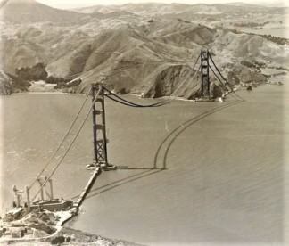 Golden Gate Bridge (1936), San Francisco History Center, San Francisco Public Library