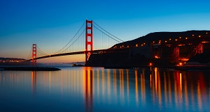 Golden Gate Bridge, Photo courtesy of Pixabay-300px