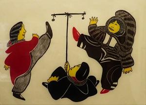 High Kick by A.N. Goose & H. Egutak (1984), Dennos Museum Center, Photo by cjverb (2018)