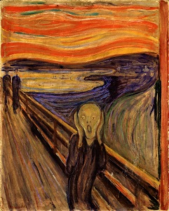 The Scream (1893) by Edvard Munch, National Gallery of Norway-300px