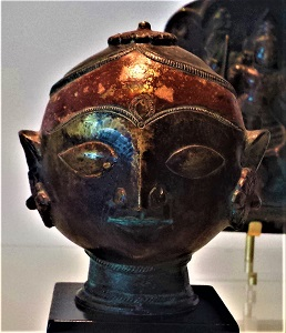 Head of Gauri (1800s) Royal Ontario Museum, Photo by cjverb (2016)