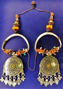 Moroccan Ear Pendants (c1880s-1900), MIA, Photo by cjverb (2018)