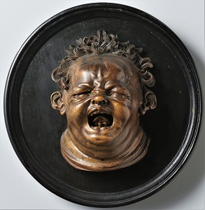 Screaming Child, Stung by a Bee, Hendrik de Keyser (c. 1615), Rijksmuseum-300px