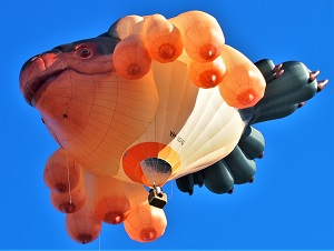 Skywhale (2013) by Patricia Piccinini, Photo by Nick-D, WikiMedia Commons-300px