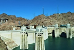 Hoover Dam Intake Towers, Photo by cjverb (2018)
