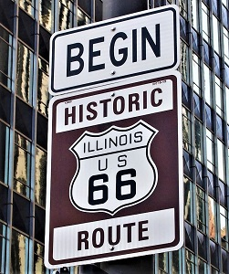Route 66, Photo by A. Hundt, Pixabay-300px
