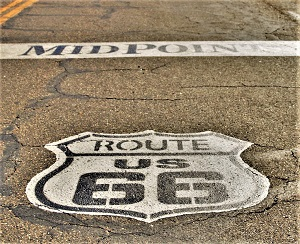 Route 66, Photo by Carrie Z, Pixabay-300px